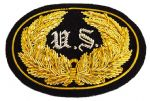 Union Officers Kepi Insignia Badge